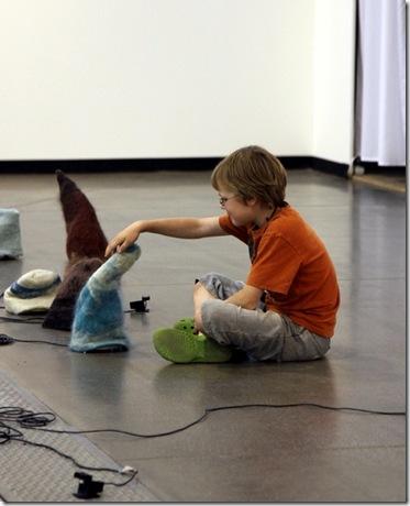 """Trembling Creatures"" at ARTVILNIUS'11"